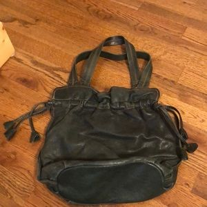 ITALIAN LEATHER LUCKY BRAND HOBO BAG